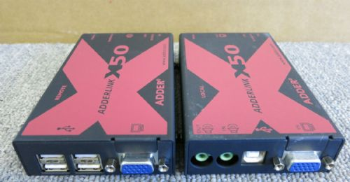 AdderLink X Series X50 MultiScreen Local and Remote units KVM extender X50 19309